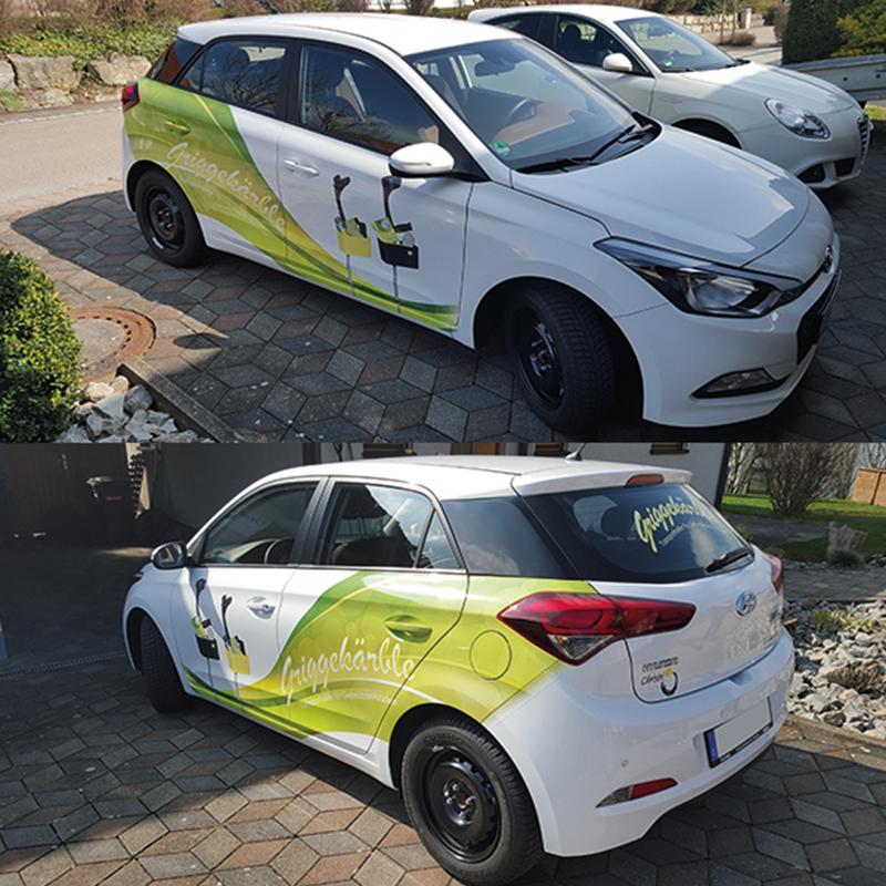 Fahrzeuggestaltung, Griggekärble-Firma Chrisbi